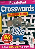 Puzzlelife Crossword Super Magazine Issue NO 16