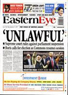 Eastern Eye Magazine Issue 27/09/2019