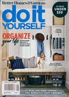 Bhg Do It Yourself Magazine Issue ORGANIZE
