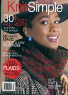 Knit Simple Magazine Issue FALL
