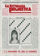 La Settimana Enigmistica Magazine Issue NO 4563