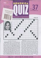 Domenica Quiz Magazine Issue NO 37