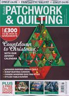 British Patchwork & Quilting Magazine Issue NOV 19