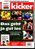Kicker Montag Magazine Issue NO 34