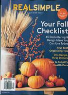 Real Simple Magazine Issue OCT 19