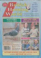 British Homing World Magazine Issue NO 7492
