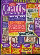 Crafts Beautiful Magazine Issue XMAS SPEC