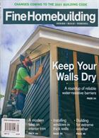 Fine Homebuilding Magazine Issue SEP 19