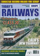 Todays Railways Europe Magazine Issue SEP 19