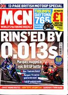 Motorcycle News Magazine Issue 28/08/2019
