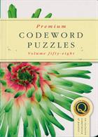Premium Codeword Puzzles Magazine Issue NO 58