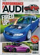 Performance Audi Magazine Issue OCT 19