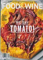 Food & Wine Usa Magazine Issue AUG 19