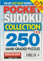 Pocket Sudoku Collection Magazine Issue NO 123