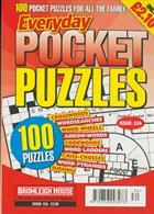 Everyday Pocket Puzzle Magazine Issue NO 134