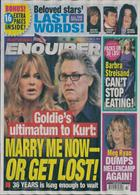 National Enquirer Magazine Issue 21/10/2019