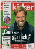 Kicker Montag Magazine Issue NO 35