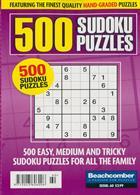 500 Sudoku Puzzles Magazine Issue NO 60