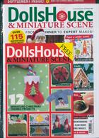 Dolls House & Miniature Scene Magazine Issue DEC 19