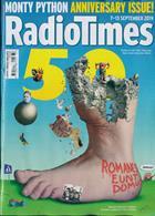 Radio Times London Edition Magazine Issue 07/09/2019