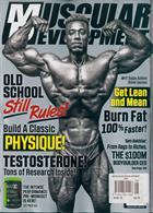 Muscular Development Usa Magazine Issue AUG 19