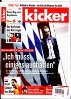 Kicker Montag Magazine Issue NO 36