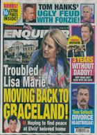 National Enquirer Magazine Issue 28/10/2019