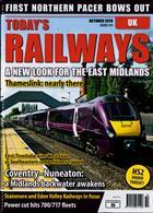 Todays Railways Uk Magazine Issue OCT 19