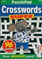 Puzzlelife Crossword Super Magazine Issue NO 17