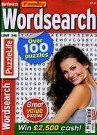 Family Wordsearch Magazine Issue NO 346