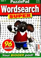 Puzzlelife Wordsearch Super Magazine Issue NO 17
