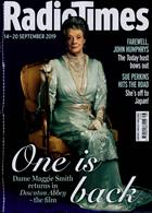 Radio Times London Edition Magazine Issue 14/09/2019