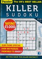 Puzzler Killer Sudoku Magazine Issue NO 163