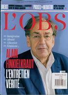 L Obs Magazine Issue NO 2863