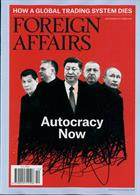 Foreign Affairs Magazine Issue SEP-OCT