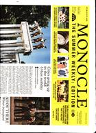 Monocle Summer Weekly Magazine Issue NO 3