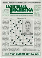 La Settimana Enigmistica Magazine Issue NO 4565