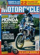 Motorcycle Sport & Leisure Magazine Issue DEC 19