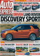 Auto Express Magazine Issue 18/09/2019