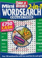 Tab Mini 2 In 1 Wordsearch Magazine Issue NO 17