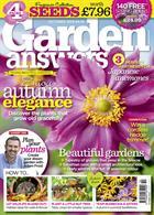 Garden Answers Magazine Issue OCT 19