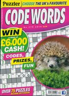 Puzzler Codewords Magazine Issue NO 279