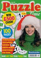 Puzzle Time Magazine Issue NO 86