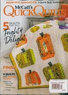Quilters World Magazine Issue TRKS&TREAT