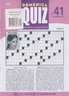 Domenica Quiz Magazine Issue NO 41