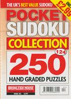 Pocket Sudoku Collection Magazine Issue NO 124