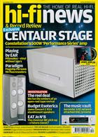 Hi-Fi News Magazine Issue DEC 19