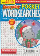 Everyday Pocket Wordsearch Magazine Issue NO 86