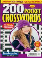 200 Pocket Crosswords Magazine Issue NO 58