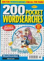 200 Pocket Wordsearches Magazine Issue NO 58